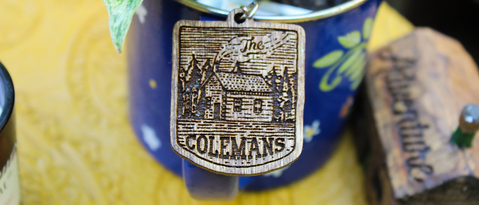 Family Cottage Keyring