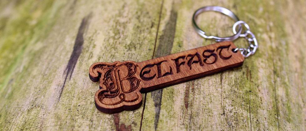 Belfast Keyring