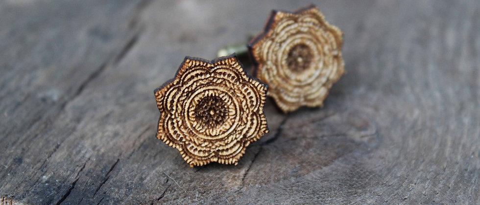 Mandala Cufflinks