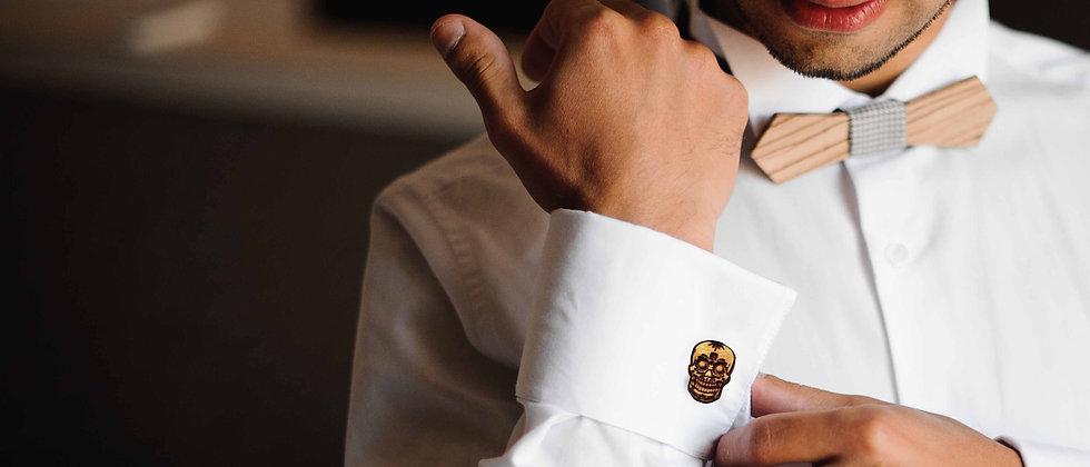 Sugar Skull Cufflinks