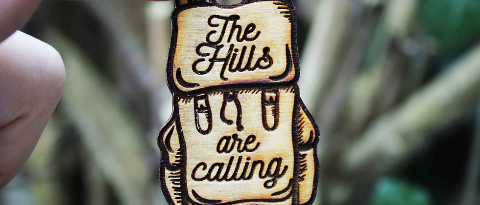 The Hills Are Calling Magnet