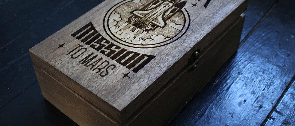 Mission to Mars Keepsake Box