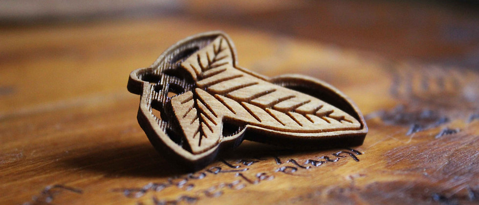 Lorien Leaf Pin