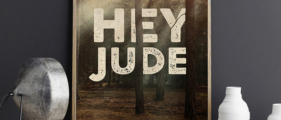 Hey Jude Print