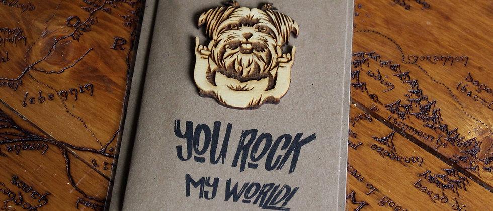 You Rock! Greeting Card