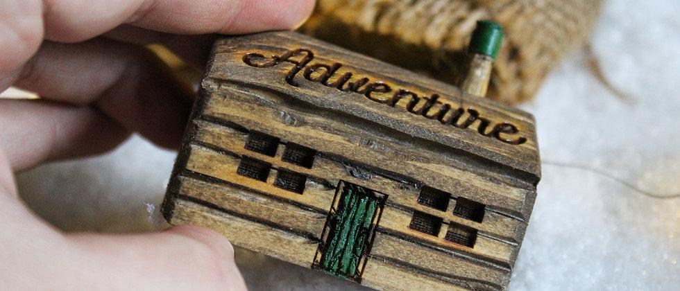 Hand Carved Adventure Cottage/Cabin
