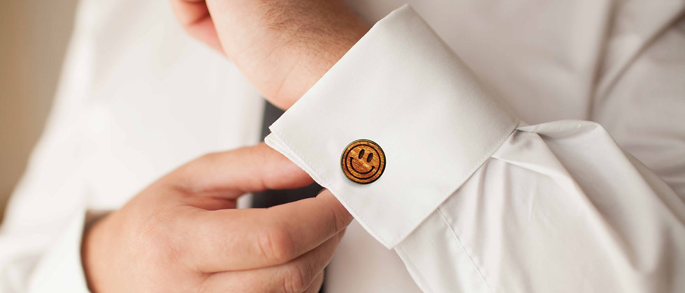 Smiley Cufflinks