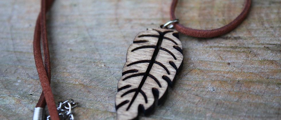 Long Leaf Necklace