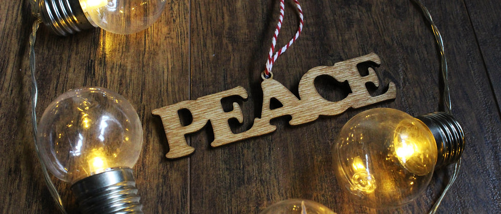 Peace Bauble