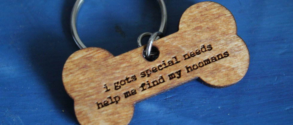 Special Needs Pet Tag