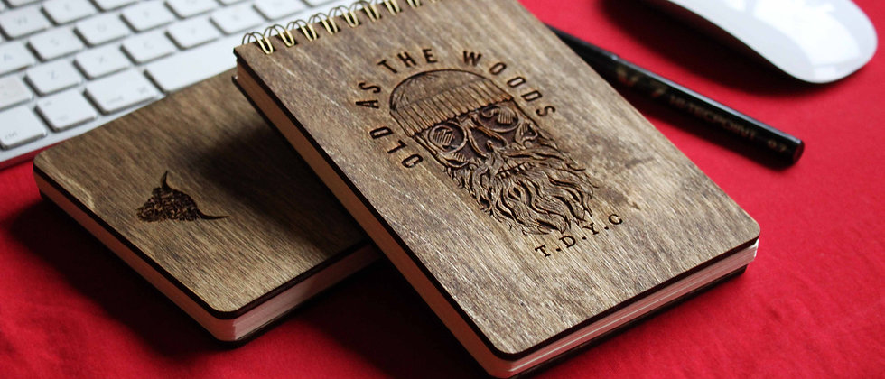 Old As The Woods Notebook