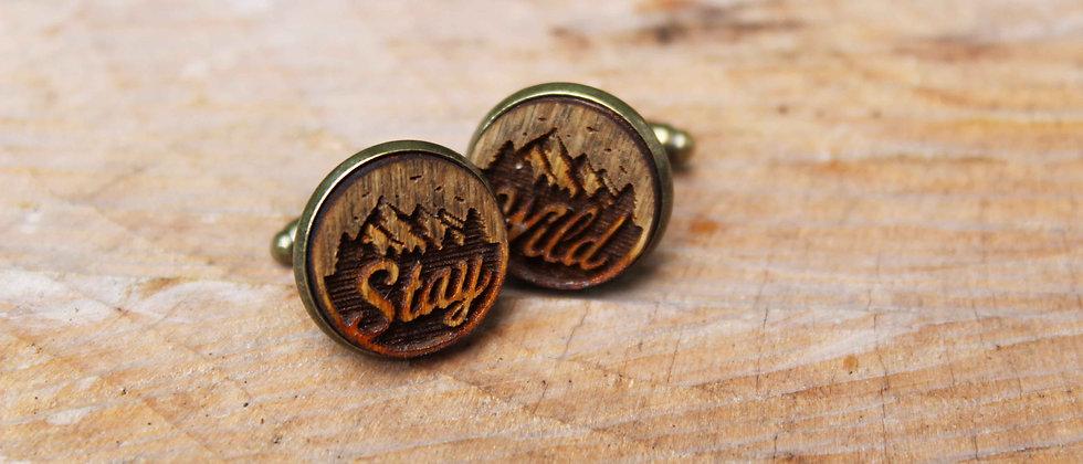 Stay Wild Cufflinks