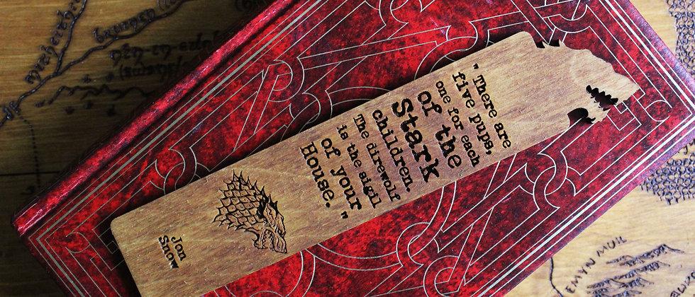 Jon Snow Bookmark