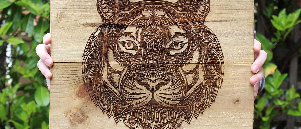 Tiger Panel Art
