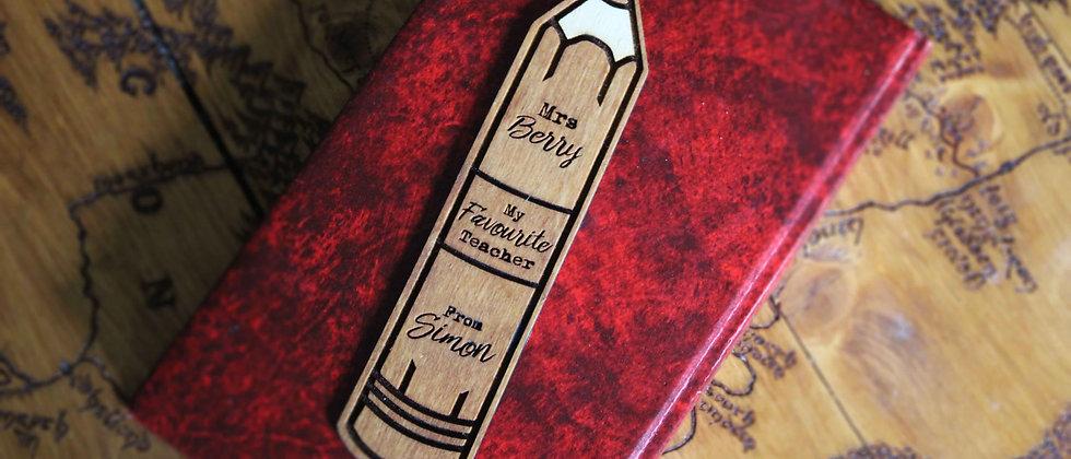 Personalised Teacher Bookmark