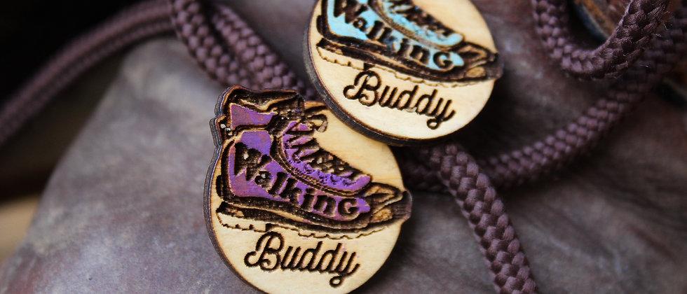 Walking Buddy Pin