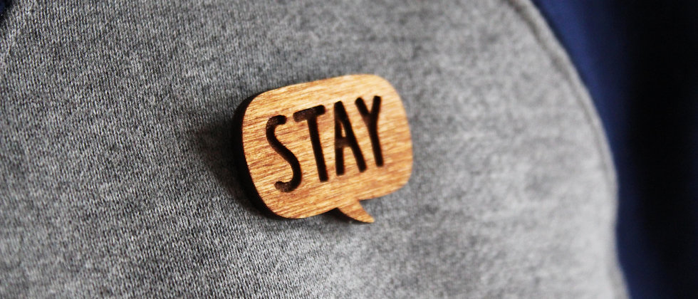 Wooden STAY pin