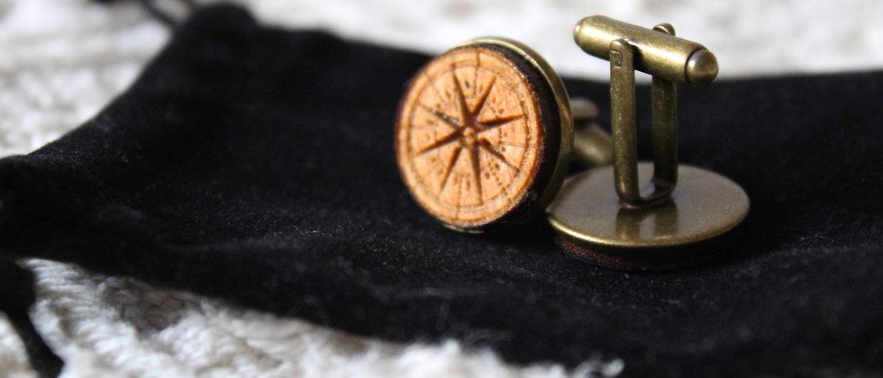 Nautical Compass Cufflinks