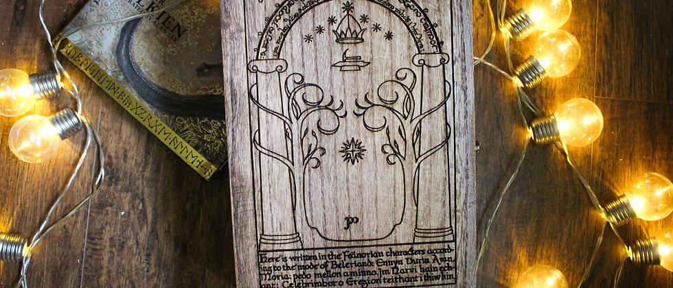 Durin's Door Keepsake Box