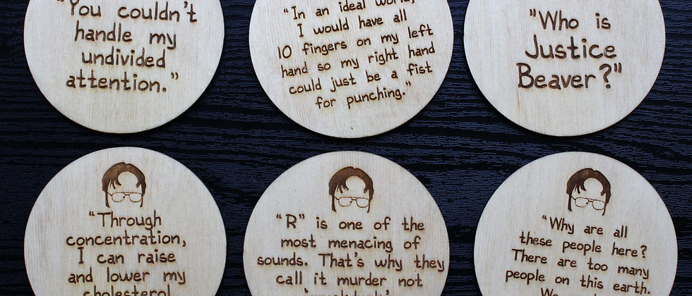 Dwight Shrute Coasters