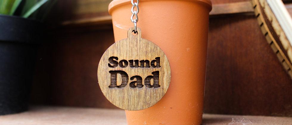 Sound Dad Keyring