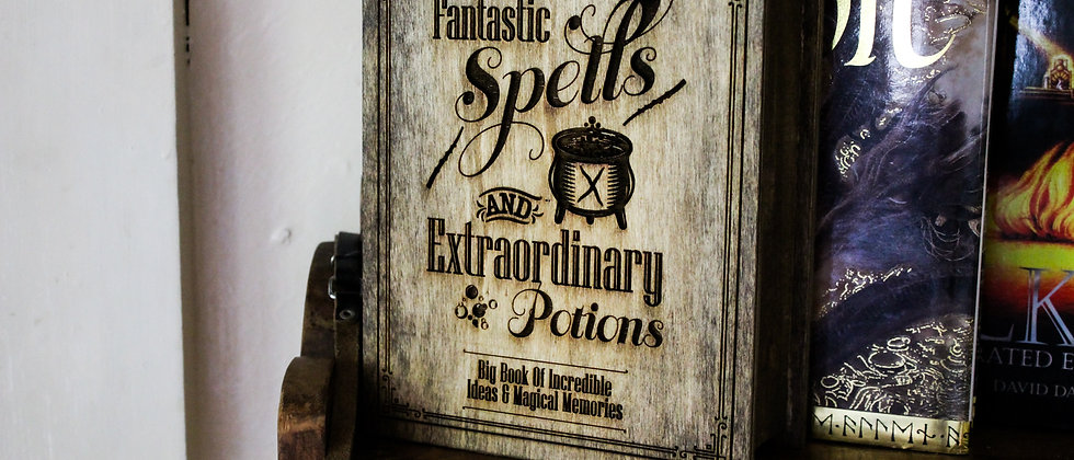 Fantastic Spells Book Box