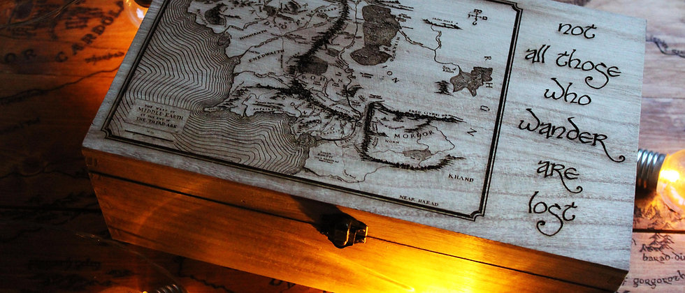 Middle Earth Keepsake Box
