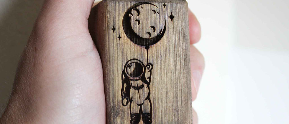 Hanging From Moon Light Pull