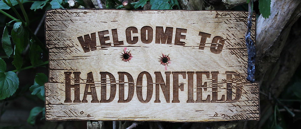 Haddonfield Sign