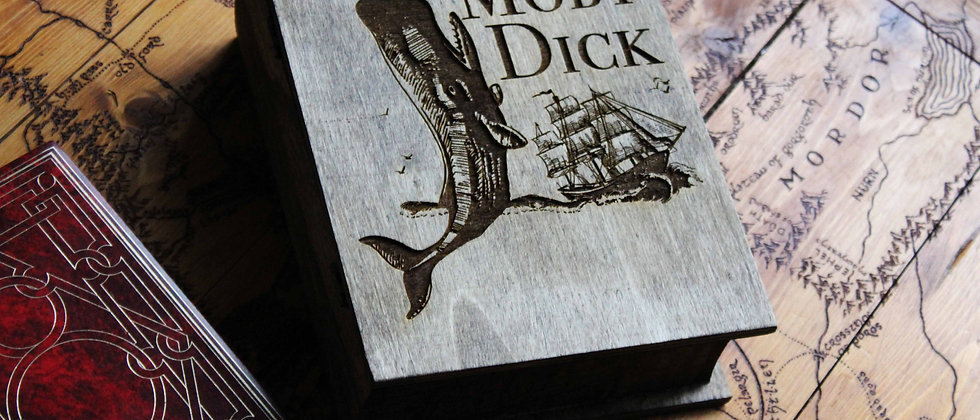 Moby Dick Book Box
