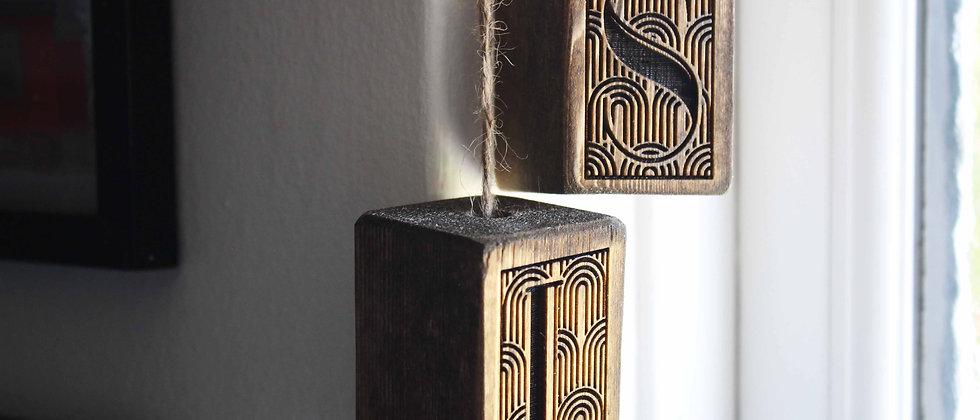 Art Deco Light & Shower Pulls