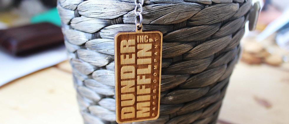 Dunder Mifflin Keyring