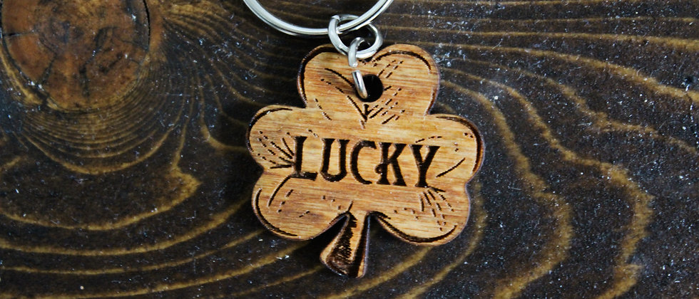 Shamrock Pet Tag