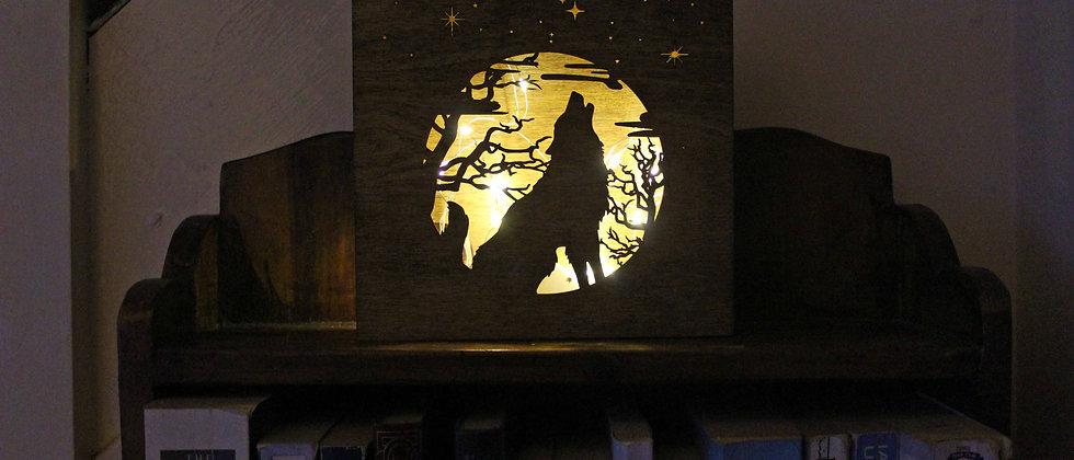 Howling Wolf Light Box