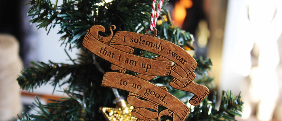 I Solemnly Swear Bauble