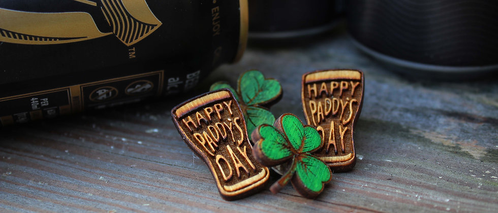 Paddy's Day Pins