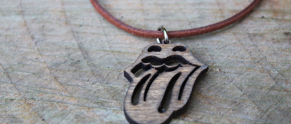 Rolling Stones Necklace