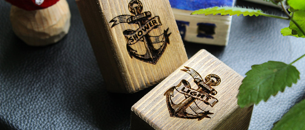 Anchor Light and Shower Pulls