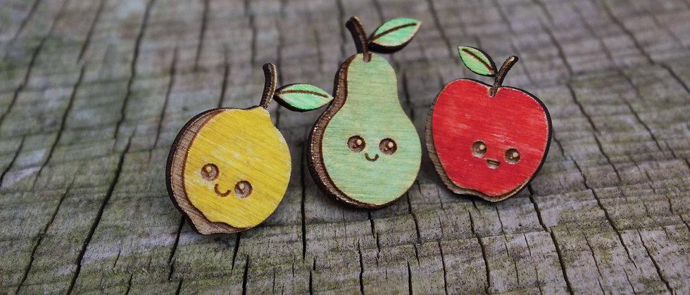 Cute fruit Pins