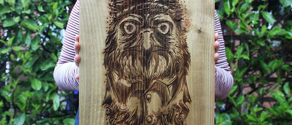 Eagle Panel Art