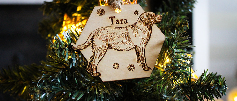 Labrador Christmas Bauble