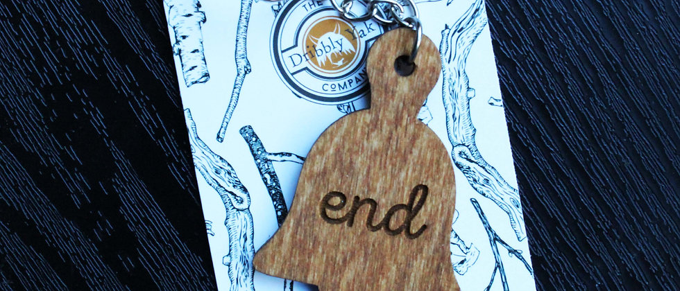 Bell End Keyring
