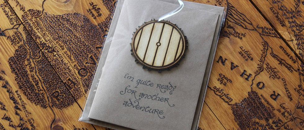 Hobbit Adventure Greeting Card