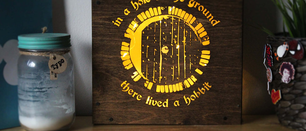 Hobbit Door Light Box