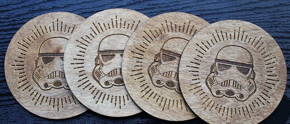 Storm Trooper Coasters