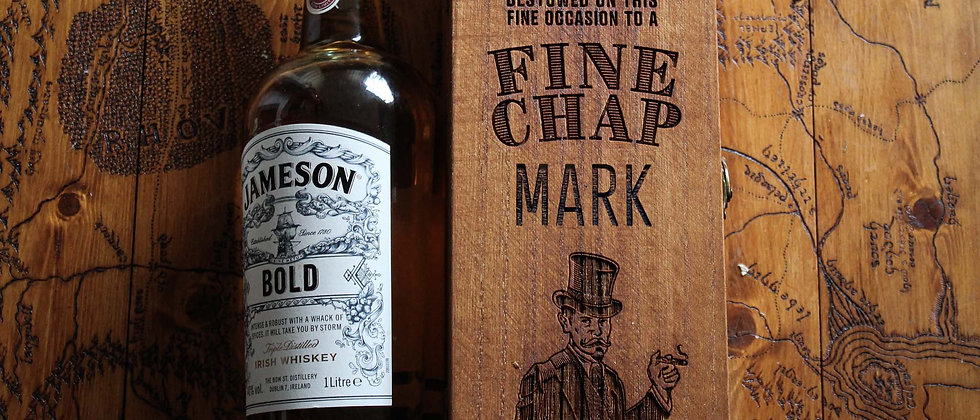 Personalised 'Fine Chap' Drink Box