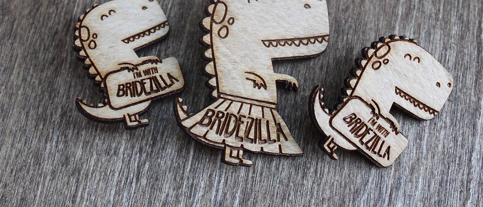 Bridezilla Pins