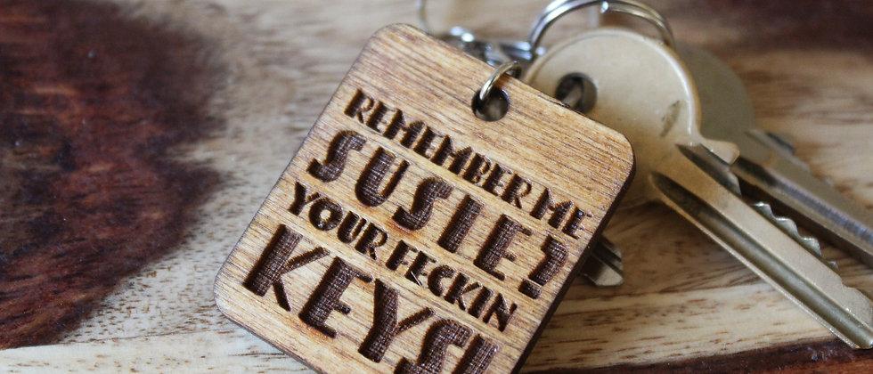 Remember your Keys Keyring