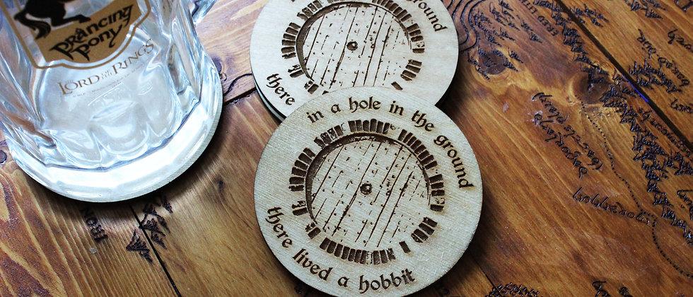 Hobbit Door Coasters
