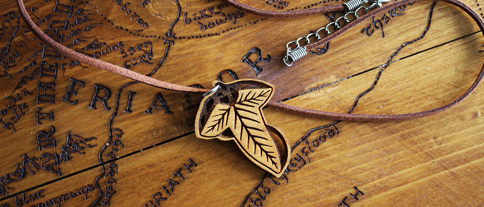 Lorien Leaf Necklace